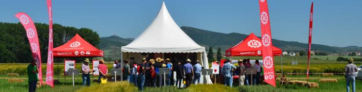 LG, anfitriones en las Jornadas de Cereal organizadas por GENVCE en Navarra